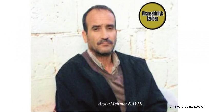 Viranşehir'de 31 Ağustos 2020 Günü Vefat etmiş, Sevilen İnsan Merhum Kemal Yumru