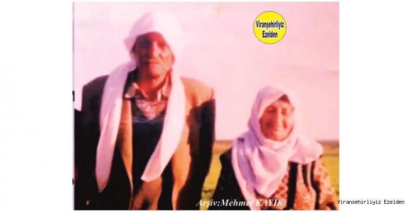 Viranşehir'de Abdulkadirê Hammo Çavuş olarak tanınan, Merhum Abdulkadir Yorulmaz ve Eşi Merhume Zine Yorulmaz