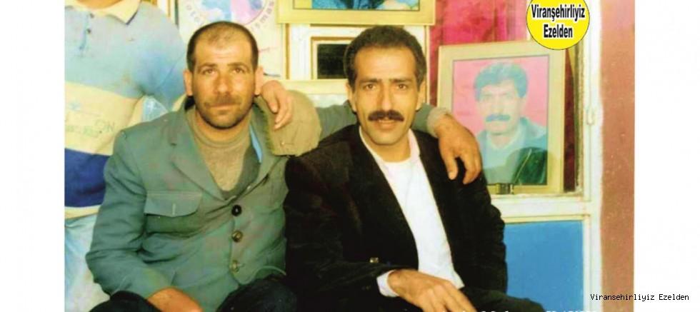 Viranşehir'de Abe Sıraç olarak tanınan Sevilen İnsan Sıraç Şavlı ve Abdulkadir Sanar