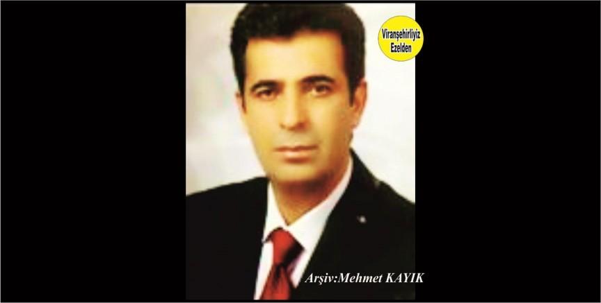 Viranşehir'de Belediye Başkan Adaylığı yapmış, Sevilen Güzel İnsan İshak Kaya