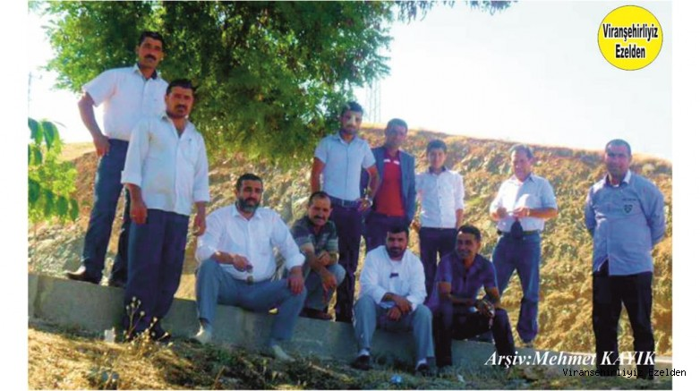 Viranşehir'de Bir Aşiret Kadar Büyük Bir Aileye Sahip olan Dolaş Ailesi Fertlerinden, Şerif Dolaş, Mehmet Şeyhmus Dolaş, Bişar Dolaş, Ahmet Dolaş, Hasan Dolaş,