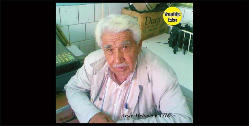 Viranşehir'de Cuma Olarak Tanınan, Sevilen, Sayılan Değerli İnsan, Şeyh Cuma İnan