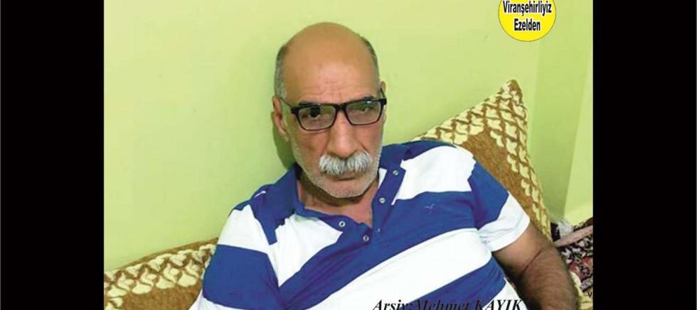 Viranşehir'de Dayı Feyzi Lakabıyla Olarak Tanınan, şimdi Diyarbakır'da yaşayan Feyzi Güngör