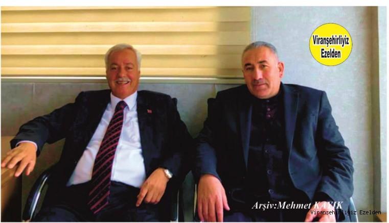 Viranşehir'de Değerli Kanaat Önderlerimizden Dürüst, Sevilen Değerli İnsan Hacı Hadi Kuran ve Eyyüpnebi Eski Belediye Başkanlarından Mustafa Çiftçi