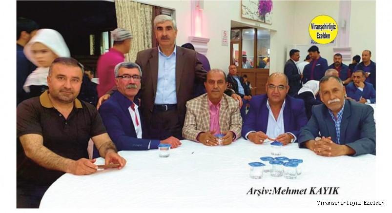 Viranşehir'de Esnaflık yapan, Eshat Diken,Lütfü Özkılavuz, Mehmet Sığırcı, Ahmet Çağrı, Muhtar Sinan Tekin