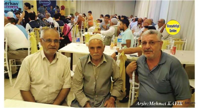 Viranşehir'de Esnaflık yapmış Nedim Gezgör, İbrahim Halil Gezgör ve Emekli Öğretmen Arif Toptal