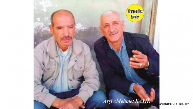 Viranşehir'de Fırıncı Cevdet Olarak Tanınan Değerli İnsan Merhum Mahmut Kaçan ve Ali Söken