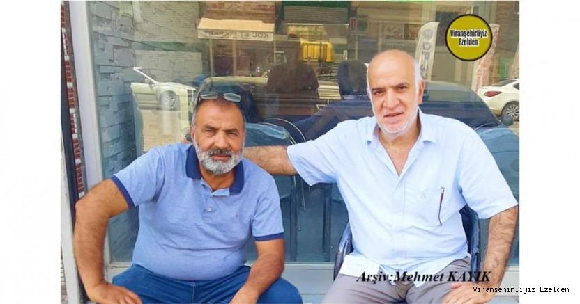 Viranşehir'de Giyim Sektöründe Yıllarca Esnaflık yapmış, İlhan Yılnur ve 40 Yıllık Dostu, Arkadaşı Murat Özen(Ördek)