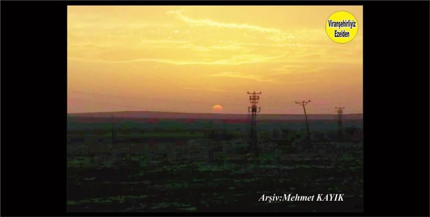 Viranşehir'de Gün Batımı