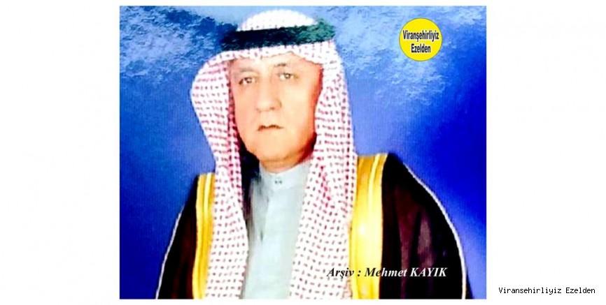 Viranşehir'de Hacı Rağıp olarak tanınan, ve Bursa ilinde yaşayan Hacı Rağıp Güner
