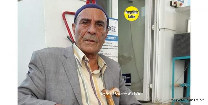 Viranşehir'de İğneci Halim olareak tanınan Yeni Vefat etmiş Merhum Halim Karakuş