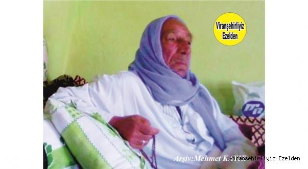 Viranşehir'de İsmete Ağe olarak tanınan Kanaat Önderlerimizden Merhum  İsmet Özkan