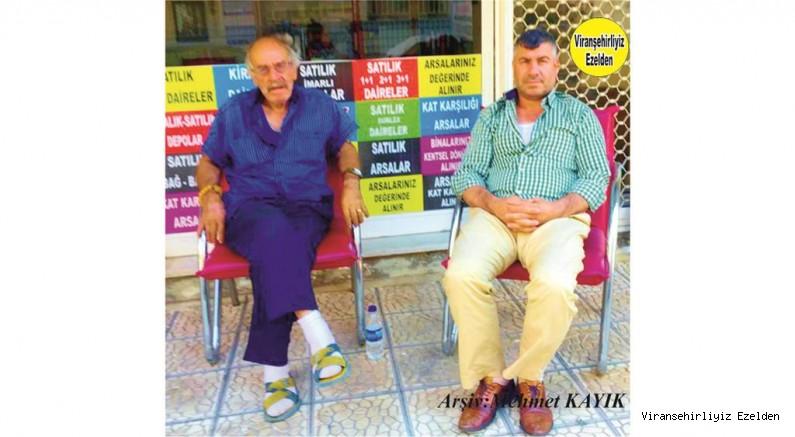 Viranşehir'de Kaynakçılık Yapmış, Münir Kaya ve Oğlu Murat Kaya