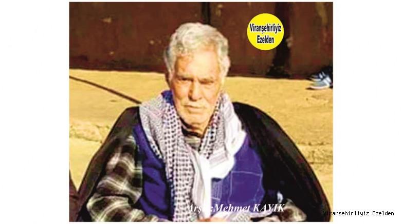 Viranşehir'de Küçük Ahmet olarak tanınan Sevilen, Sayılan Kanaat Önderlerimizden olan Ahmet Kaya