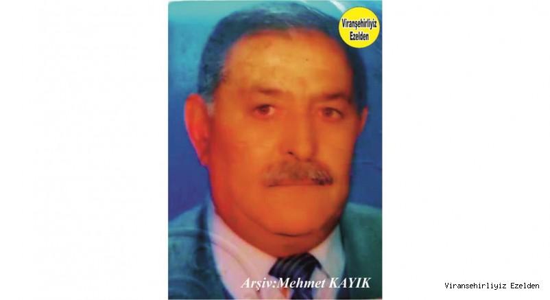 Viranşehir'de Kunduracı Abdi olarak tanınan Beyefendi Güzel İnsan Merhum Abdulkadir Belkıran'ın 15. Ölüm Yıldönümü