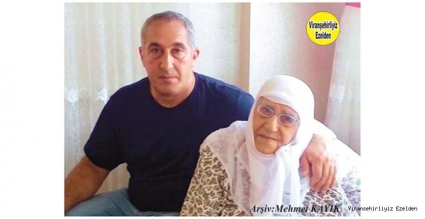 Viranşehir'de Muhasebe İşleri ile Uğraşan, Mehmet Kıvan ve Annesi Merhume Hamdiye Kıvanç