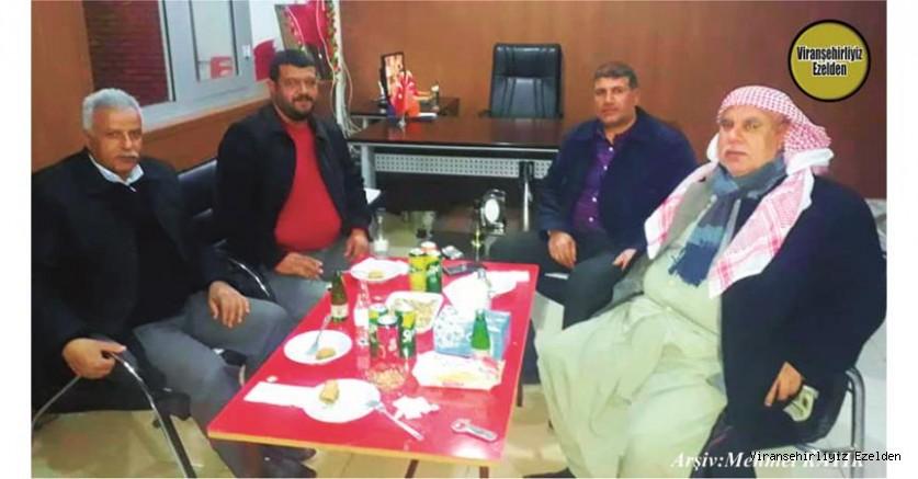 Viranşehir'de Sevilen Değerlerimizden olan, Hadi Diken, Mustafa Sünger, Mustafa Kurt ve Abit Tugay