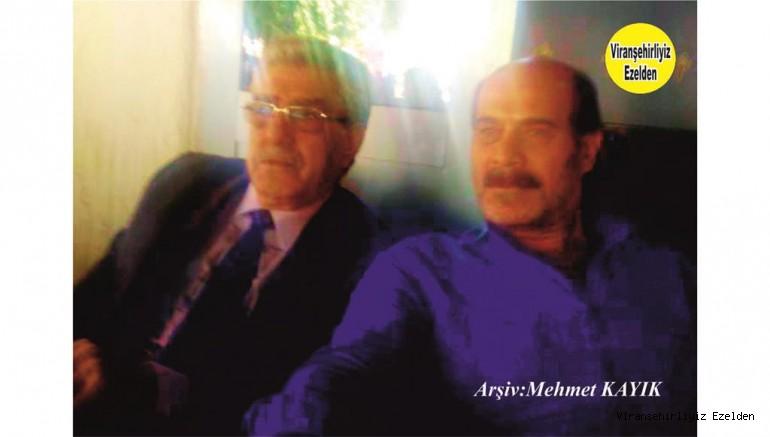 Viranşehir'de Sevilen Değerlerimizden olan Mehmet Şerif Özkan ve Eyüp Zenciroğlu