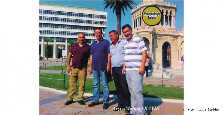 Viranşehir'de Sevilen Gözen Ailesi Fertlerinden olan, İzmir'de Biraraya gelmiş, Nureddin Gözen, Kadir Gözen, Mehmet Gözen ve Yılmaz Gözen
