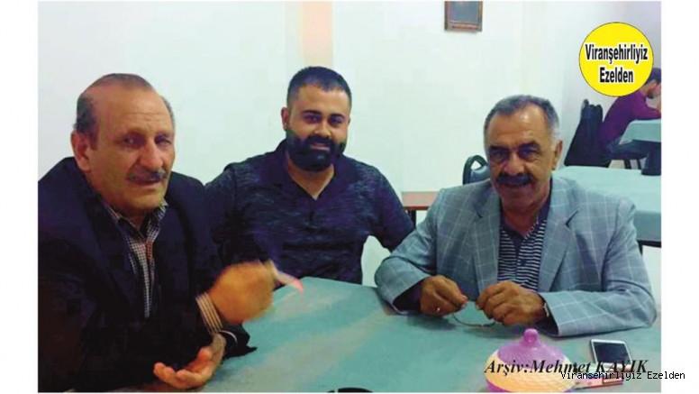 Viranşehir'de Sevilen, Sayılan Değerlerimizden olan, Sinan Demir, Fahri Kaya ve Genç Avukatlarımızdan Serhat Dicle İnan