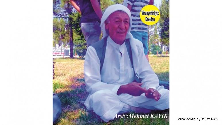 Viranşehir'de Sevilen, Sayılan Kanaat Önderlerimizden, Şeyh Hikmet Aydın