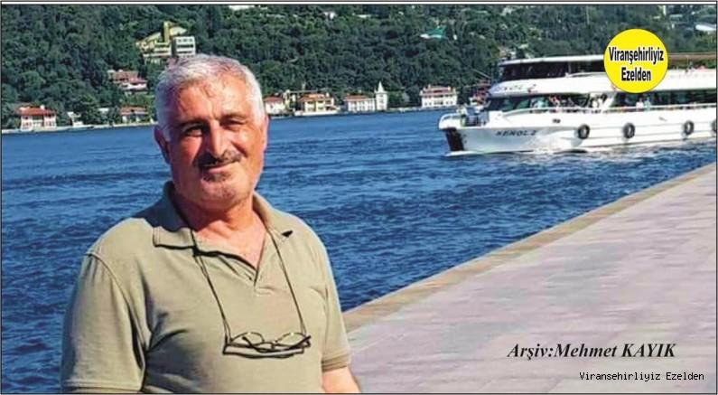 Viranşehir'de Sevilen Tanınmış Usta Boyacılarımızdan olan Merhum Mehmet Şekeroğlu