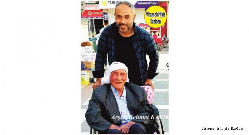 Viranşehir'de Şeyh Eyyüp Olarak Tanınan Şeyh Eyyüp Denel ve Oğlu Muhammed Nur Denel