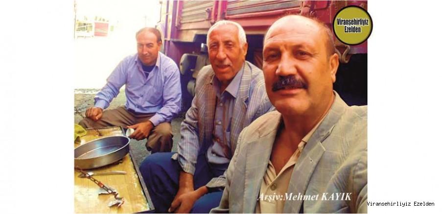 Viranşehir'de Şoförlük Sektöründe Yıllarca Esnaflık yapmış, Usta Şoförler Yusuf Caymak(Yusuf Yarbay) Nuri Çetiner(Teyzeoğlu Nuri) ve  Ali Çiçek