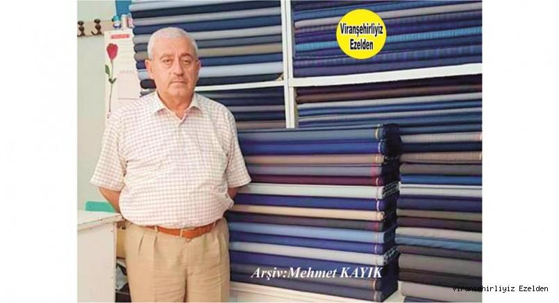 Viranşehir'de Terzi hacı Sıraç Olarak Tanınan Hacı Sıraç Akçan