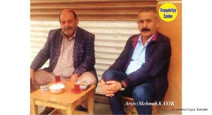 Viranşehir'de Terzi Rafet Olarak Tanınan Rafet Araz ve Çiftçi - İşadamı Sinan Köroğlu