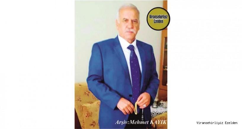 Viranşehir'de Terzilik Sektöründe Yıllarca Usta Terzi olarak hizmet vermiş, şimdi İzmir'de yaşayan Sevilen, İyi İnsan Abdulkadir İnci