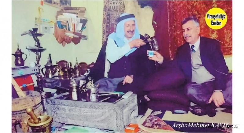 Viranşehir'de Ünlü Mırracılarımızdan hacı Mustafa Gerzo olarak tanınan Merhum Hacı Mustafa Vural ve İlçe Milli Eğitim Eski Müdürlerinden Ömer Sağır