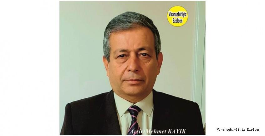 Viranşehir'de Yaklaşık olarak 10 Yıl Viranşehir İlçe Tarım Müdürü Olarak Görev yapmış, Sevilen İyi İnsan Eski Müdür Sıraç Yolcu