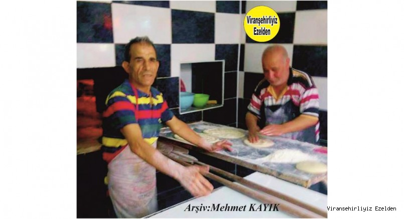 Viranşehir'de Yetişmiş Usta Fırıncılarımızdan Ahmet Bizzi olarak tanınan Ahmet Kaçan ve Kardeşi Gazi Kaçan