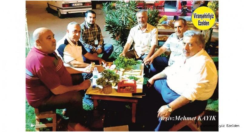 Viranşehir'de Yetişmiş Usta Şoförlerimizden Mehmet  Ali Kodan, Mustafa Akyürek, Şadan Öztürk, Rehan Kaya ve Arkadaşı
