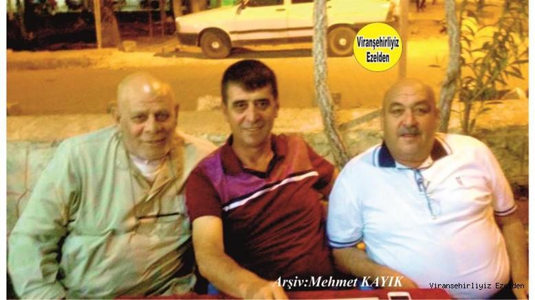 Viranşehir'de Yetişmiş Usta Şoförlerimizden olan Merhum Ahmet Zenciroğlu, Mehmet Ali Kodan ve Mehmet Bayraktar'a