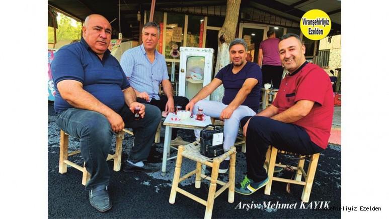 Viranşehir'de Yetişmiş Yöresel Ses Sanatçılarımızdan Servet Taşçı, Mehmet Serin, Sıraç Taşçı ve Abdurrahman Serin