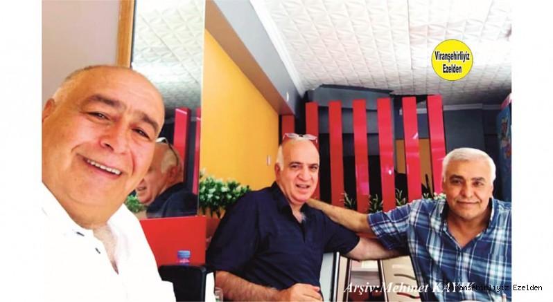 Viranşehir'de Yıllarca Dostluk, Arkadaşlık yapmış, Cuma Yalçın, İlhan Yılnur ve Nevvaf İtmiş