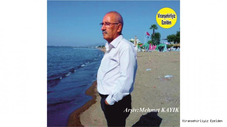 Viranşehir'de Yıllarca Elektrik Sektöründe Esnaflık yapmış, şimdi İzmir'de yaşayan Mehmet Sadık Bakırcı
