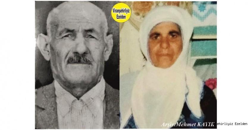 Viranşehir'de Yıllarca Emeği ile Ayakta kalmış, Sevilen İnsan Merhum Bahe Gör ve Eşi Merhume Meryem Gör