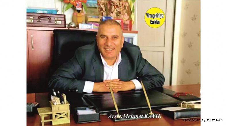 Viranşehir'de Yıllarca Meclis Üyeliği yapmış, Hamme Yüzücü olarak tanınan Mehmet Yüzücü