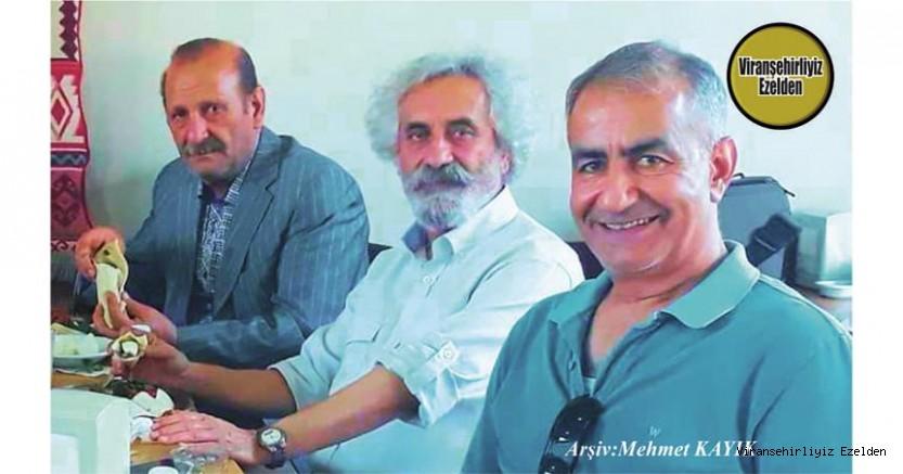 Viranşehir'de Yıllarca Öğretmenlik yapmış, Sevilen, İnsan Emekli Öğretmen M. Fahri Kaya, Emekli Öğretmen Mehmet Pirinç ve Emekli Bekçi Mehmet Coşkun(Dürri Coşkun)