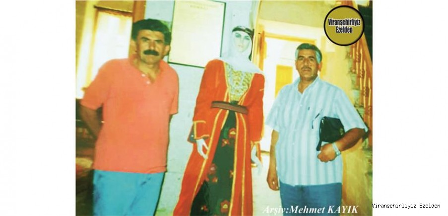 Viranşehir'de Yıllarca Öğretmenlik yapmış, Sevilen, Sayılan İnsan Öğretmen Mustafa Alay ve Arkadaşı Öğretmen Eşref Yurdasiper