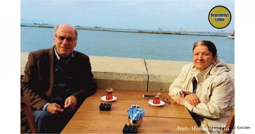 Viranşehir'de Yıllarca Öğretmenlik yapmış, Şimdi İzmir'de Yaşayan, Sevilen Öğretmenlerimizden Mehmet Küçük ve Eşi Nejla Küçük