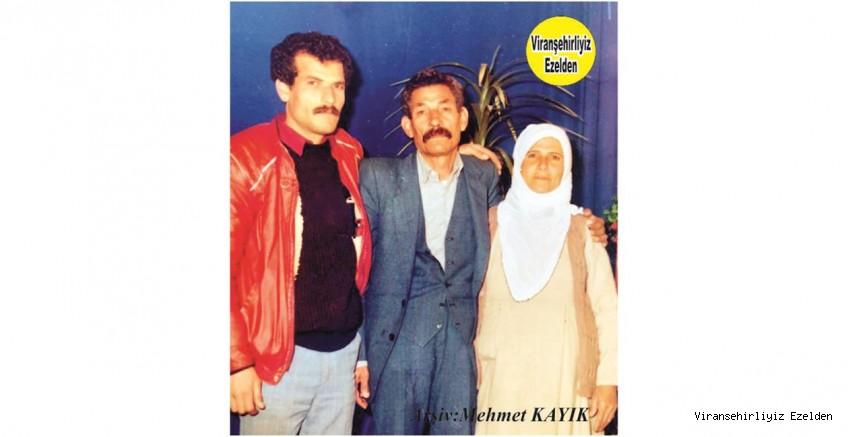 Viranşehir'de Yıllarca Peynircilik Sektöründe Esnaflık yapmış, Sevilen İnsan Merhum Mustafa Niğit(Koçero), Merhume Eşi ve Oğlu Merhum Mehmet Niğit(Koçero)