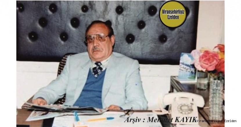 Viranşehir'de Yıllarca Sağlık Sektöründe Birçok Hizmetler yapmış, Doktor Halil olarak tanınan Sevilen İnsan Merhum Halil Yıldız