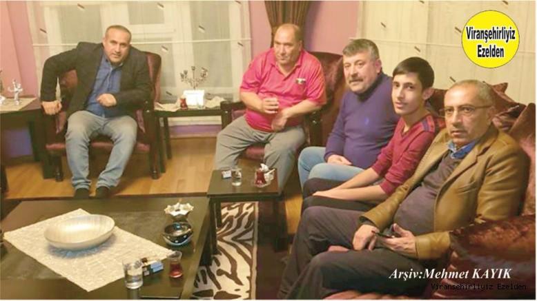 Viranşehir Devlet Hastanesi Personellerinden, Özcan Yıldız, Abdulkadir Kaya, İrfan Kaya, Mesut Bayraktar ve Mehmet Cenap Kaya