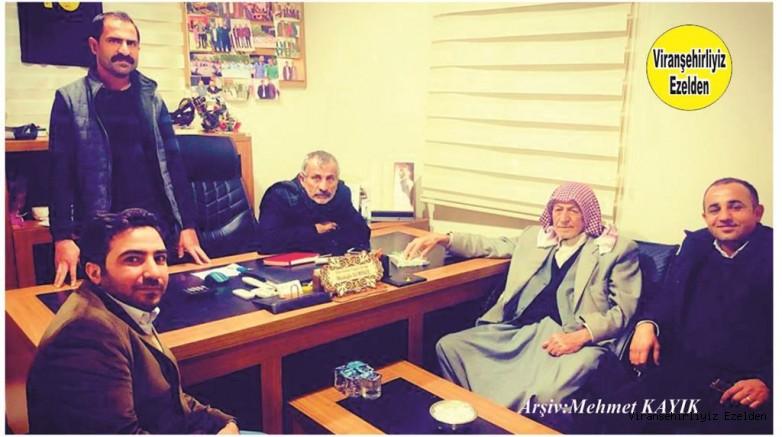Viranşehir Dila Sultan Düğün Sarayı Sahibi Şeyhmus Demirel, Şeyh Hikmet Aydın, Mustafa Demirel, Hasan Doğru ve Arkadaşı