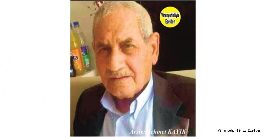 """Viranşehir Dörtyol Mevkisinde Yıllarca Gıda Sektöründe Esnaflık yapmış, """"Apê Hışman"""" olarak tanınan, Merhum Hışman Durna"""