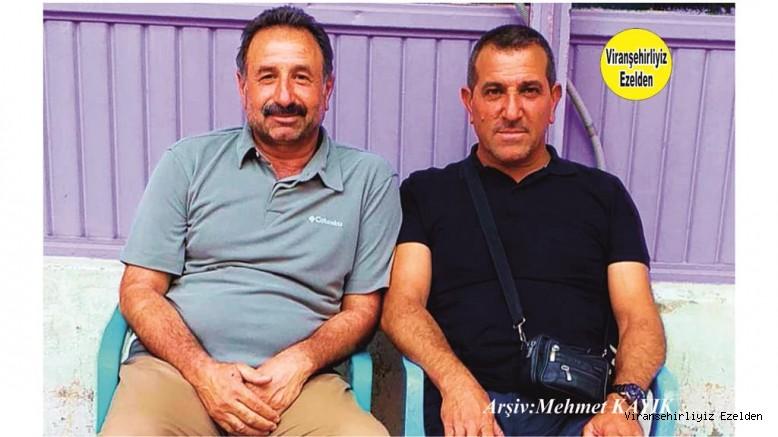Viranşehir Engelliler Derneği Başkanı Şehmus Belca ve Mahmut Ekinci